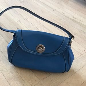 Marc Jacobs leather handbag in blue